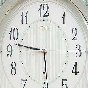 SEIKO EMBLEM セイコーエムブレム 電波掛け時計【HS439H】 文字盤