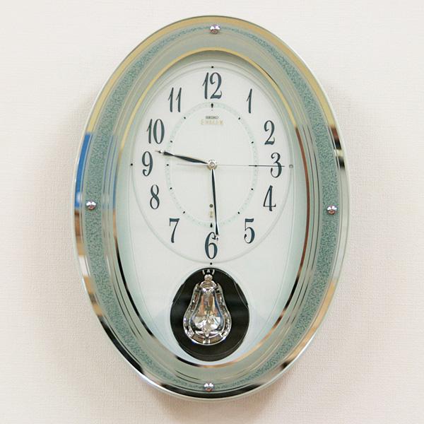 SEIKO EMBLEM セイコーエムブレム 電波掛け時計【HS439H】