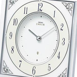 SEIKO セイコー クオーツ置き時計【HW565W】 文字盤