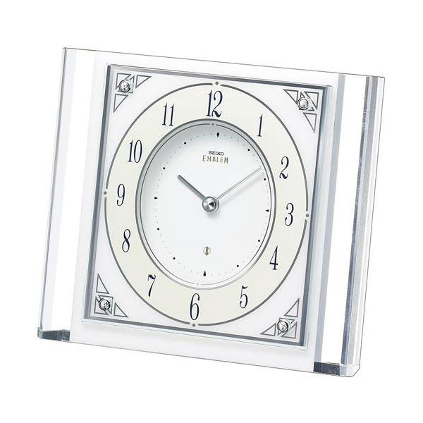 SEIKO セイコー クオーツ置き時計【HW565W】