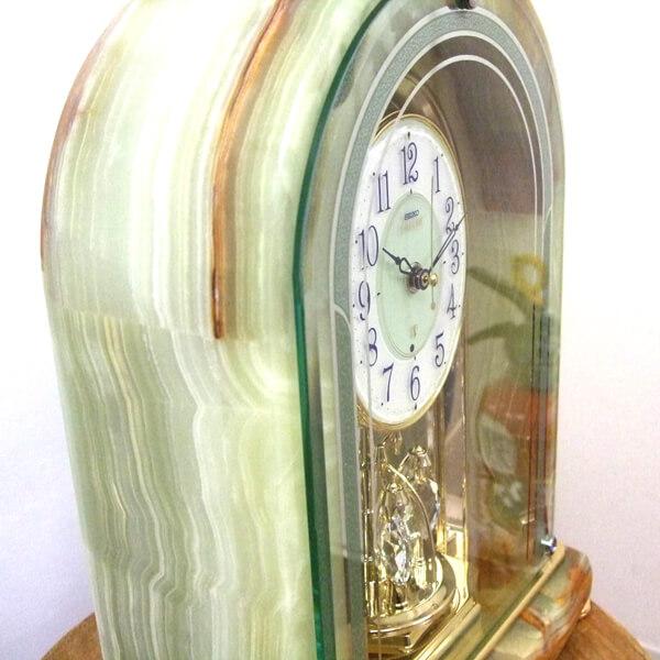 SEIKO EMBLEM セイコーエムブレム 天然石の風合いが魅力な置き時計[HW575M]  ZOOM