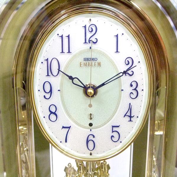 SEIKO EMBLEM セイコーエムブレム 天然石の風合いが魅力な置き時計[HW575M]