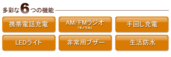 SEIKO セイコー 防災クロック目覚まし時計 【KR885N】 多彩な6つの機能