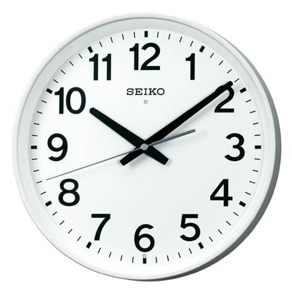 セイコー 電波掛時計スイープ KX317W