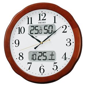 SEIKOセイコー スタンダード 電波掛け時計 kx369b 文字盤