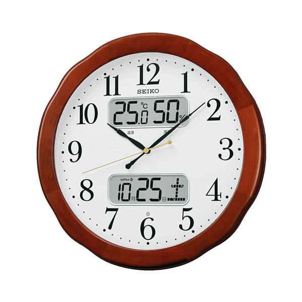 SEIKOセイコー スタンダード 電波掛け時計 kx369b