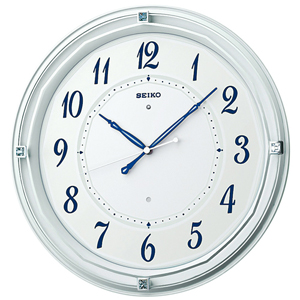 SEIKOセイコー スタンダード 電波掛け時計 KX371W