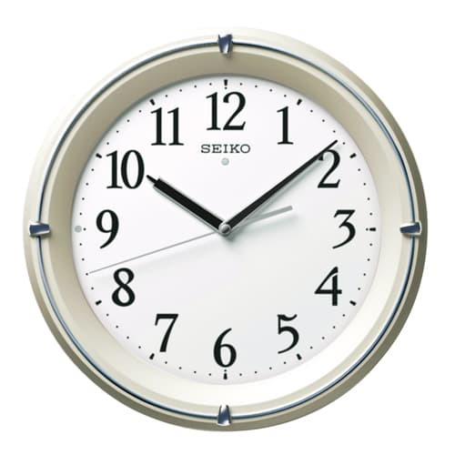 SEIKO 夜光電波掛け時計 KX381S
