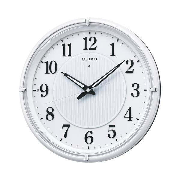 SEIKO セイコー 夜光電波掛け時計 ファインライト NEO【KX393W】 白パール