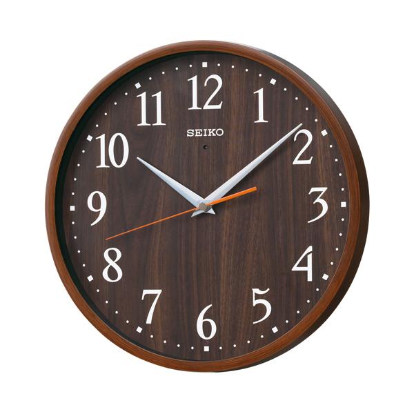 SEIKO セイコー ナチュラルスタイル 電波 掛け時計 KX399B 濃茶