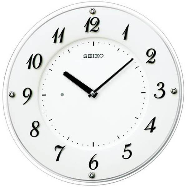 SEIKO セイコー 電波掛け時計 ソーラープラス【KX503W】