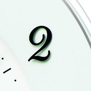 SEIKO セイコー 電波掛け時計 ソーラープラス【KX503W】 スタンド使用例