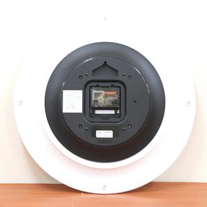 SEIKO/セイコー シンプル&モダン掛け時計 KX608W 裏面