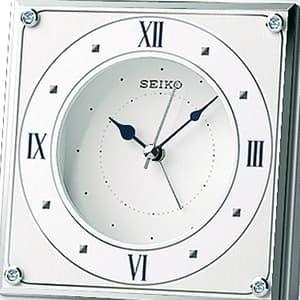 SEIKO セイコー クオーツ置き時計【qk735w】 文字盤