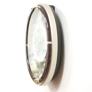 SEIKO セイコー 電波からくり掛け時計 【RE571B】 側面