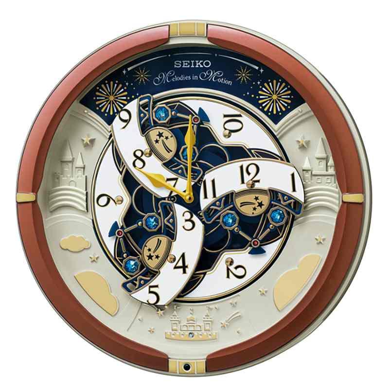seiko セイコー 家庭用からくり時計販売30周年 re601b アミュージングクロック 掛け 記念 贈り物 贈答品おすすめ 国内ブランド品