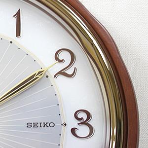 SEIKO セイコー 電波掛け時計 ソーラープラス【SF221B】 文字盤