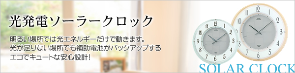 SEIKO セイコー 電波掛け時計 ソーラープラス【SF221B】
