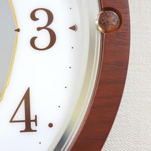 SEIKO セイコー 電波掛け時計 ソーラープラス【SF232B】 木枠