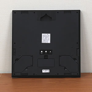 SEIKO セイコー デジタル電波クロック 【SQ421B】 裏面