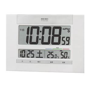 SEIKO セイコー デジタル 電波 掛け置き兼用時計 SQ429W 掛け
