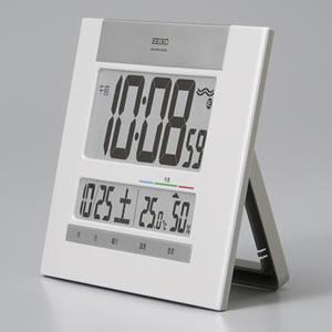 SEIKO セイコー デジタル 電波 掛け置き兼用時計 SQ429W 置き