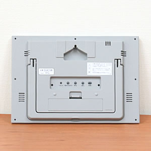 SEIKO セイコー デジタル 電波 掛け置き兼用時計 SQ429W 裏面