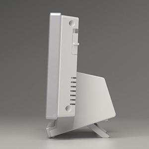 SEIKO(セイコー)アラームデジタル電波クロック置時計 奥行き