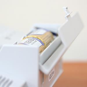 セイコー(SEIKO)温湿度表示付きデジタル電波クロック置き時計 SQ762L 取れない裏ぶた