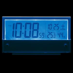 セイコー(SEIKO)温湿度表示付きデジタル電波クロック置き時計 SQ773S ライト