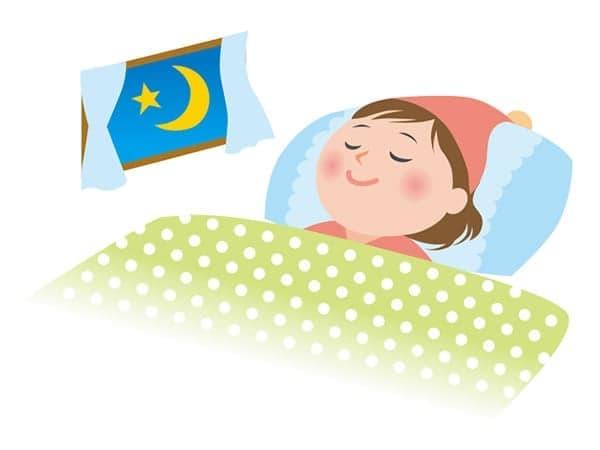 眠りを妨げない静かな環境をつくる自動鳴り止め機能