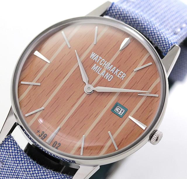 ストライプデザイン 腕時計