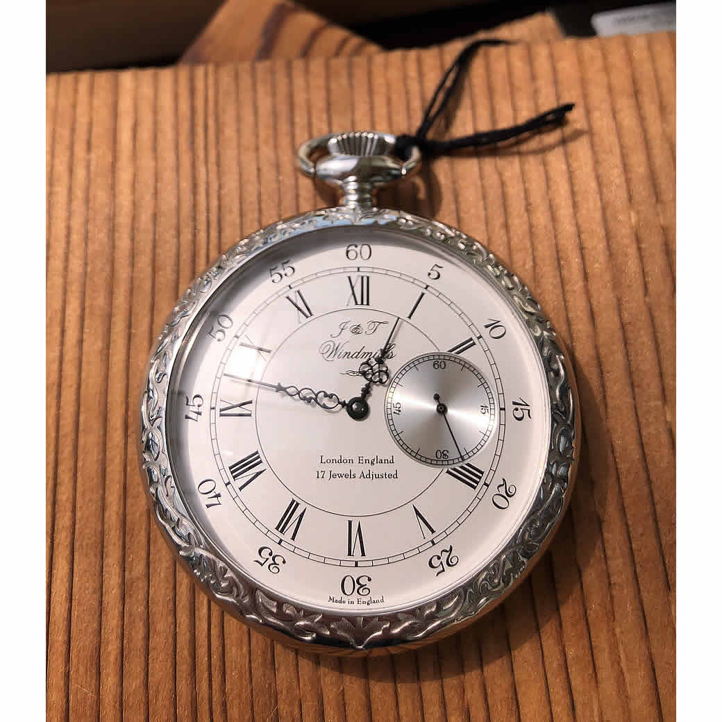 イギリス幻の懐中時計 windmills 懐中時計 wgp1000121