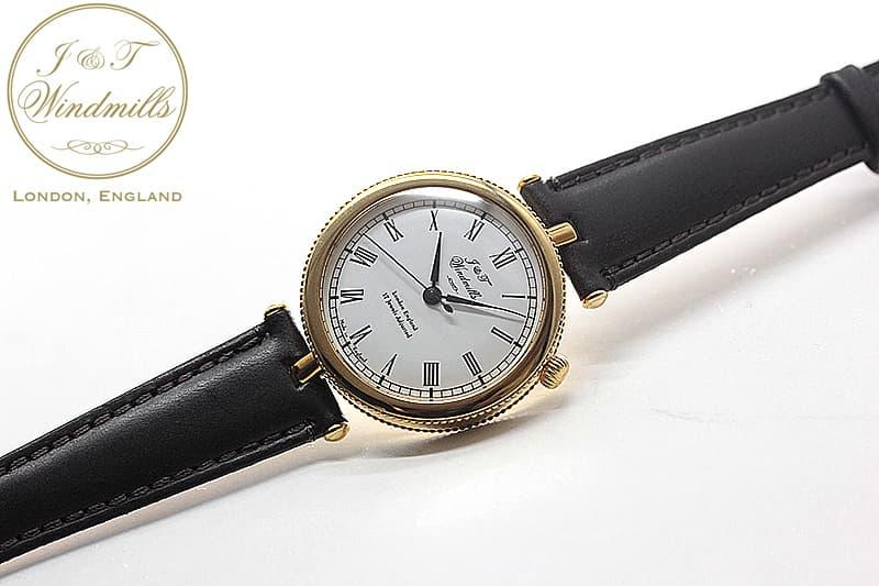 18Kイエローゴールド 腕時計