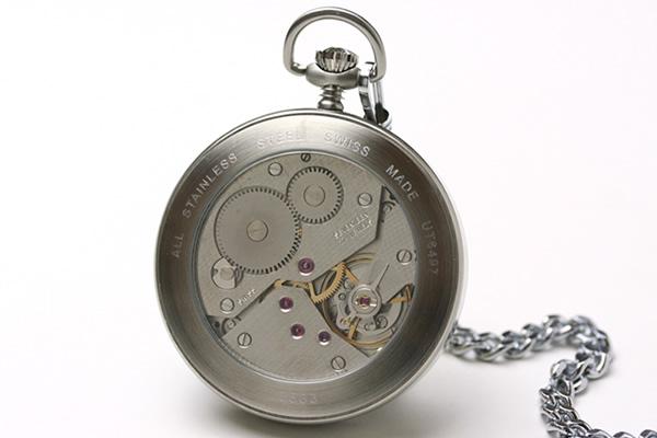 ZENO WATCH ゼノウォッチ 懐中時計 シースルーバック