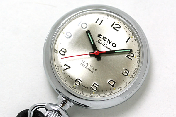 ゼノウォッチ ZENO WATCH ゼノ懐中時計 ナースウォッチ nurse2-e3 表側